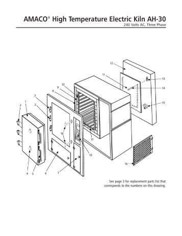 ah 30 instructions manual with parts list and wiring amaco?quality=85 amaco® high fire electric kiln hf 97