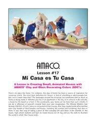 Lesson #17 - Amaco