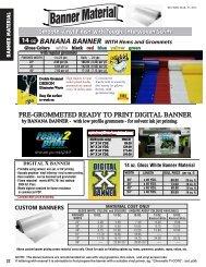 Banner Material - Graphic Commerce LTD