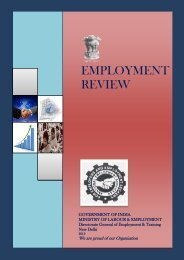 employment review - Directorate General of Employment & Training