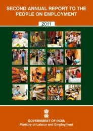 Annual Report to The People on Employment 2011 - Directorate ...
