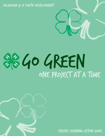 Go Green: One Project At a Time Service Learning ... - Oklahoma 4-H