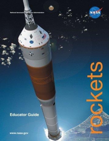 Rockets Educators' Guide pdf - ER - NASA