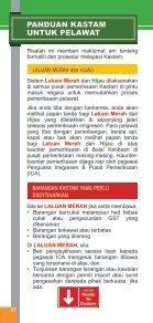 PANDUAN KASTAM UNTUK PELAWAT - Singapore Customs - Page 2