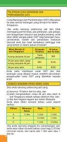PANDUAN KASTAM UNTUK PELAWAT - Singapore Customs - Page 4