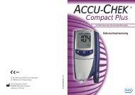 Accu-Chek Compact Plus Bedienungsanleitung - PDF-Dokument
