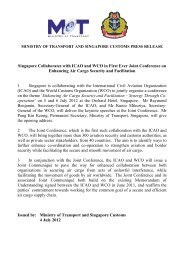 Press release on ICAO-WCO Joint Conference_Final - Singapore ...