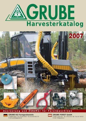 Harvesterkatalog 2007