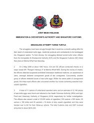 joint media release immigration & checkpoints authority and ...