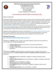 IUSD/Westpark Elementary School Enrollment/Registration for the ...