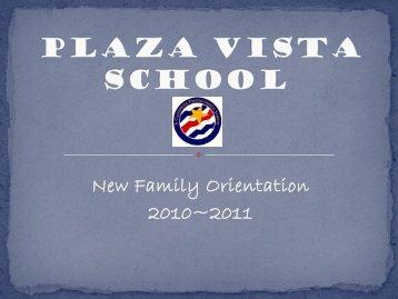 Plaza Vista School K-8 - Irvine Unified School District