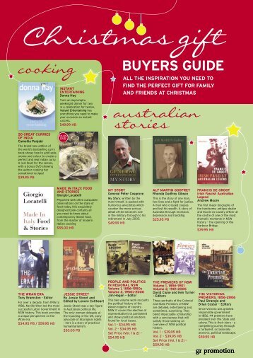 27 Xmas gifts guide1.indd - Good Reading Magazine