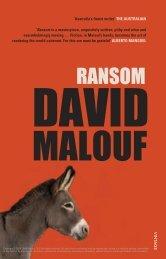 DAVID MALOUF RANSOM - Booktopia