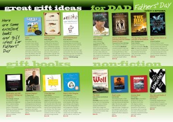 gift books non-fiction - Good Reading Magazine