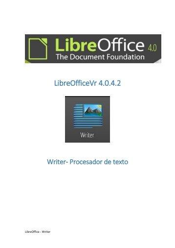 LibreOfficeVr 4.0.4.2