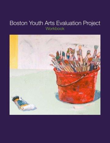 BYAEP Workbook - Massachusetts Cultural Council