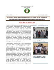 2nd Technical Meeting Of Resource Persons For The ... - NBTE