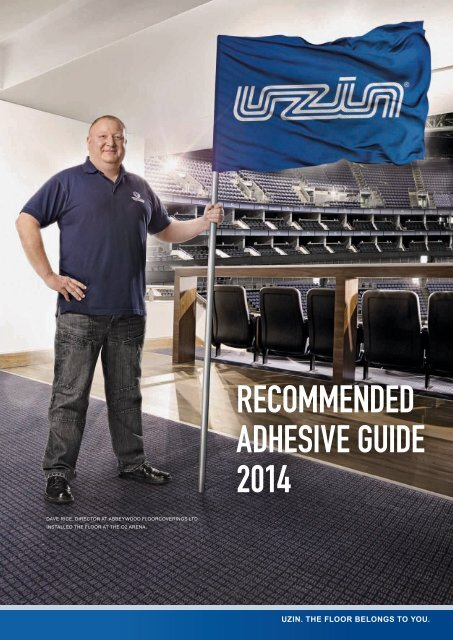 Recommended Adhesive Guide 2014