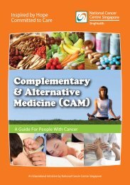 Complementary and Alternative Medicine - National Cancer Centre ...