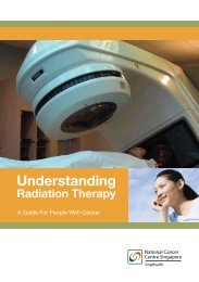 Understanding Radiation Therapy - National Cancer Centre ...