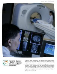 NCCS FY 2005 Annual Report - National Cancer Centre Singapore