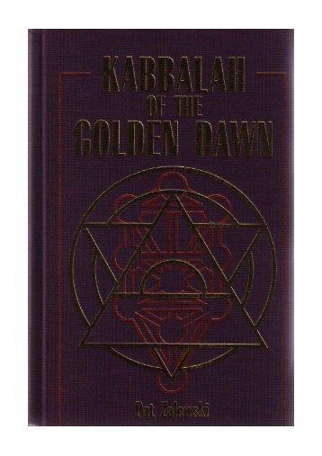 Kabbalah-of-the-Golden-Dawn-Pat-Zalewski - D Ank Unlimited