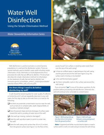 Water Well Disinfection - FTP Directory Listing