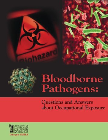 Bloodborne pathogens: questions and answers about occupational