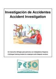 Investigación de Accidentes Accident Investigation