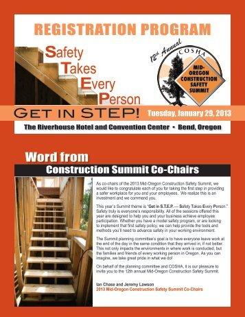 Registration program - Oregon Occupational Safety & Health Division