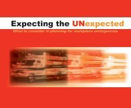 Expecting the UNexpected - Oregon Occupational Safety & Health ...