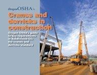 Cranes and derricks in construction