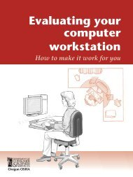 Evaluating your computer workstation