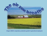 Air You Breathe: Oregon OSHA's Respiratory Protection Guide
