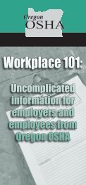 Workplace 101: Uncomplicated information for employers and