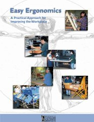 Easy Ergonomics A practical Approach for Improving the Workplace