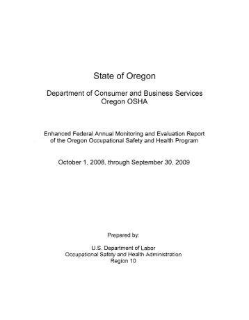State of Oregon