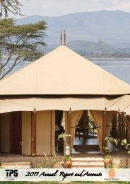 2012 TPSEA Annual Report - Serena Hotels