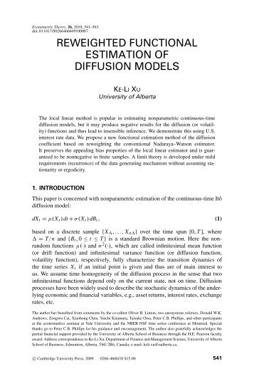 Link to PDF - Department of Economics
