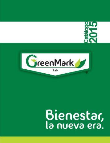 Catálogo Productos Greenmark 2015