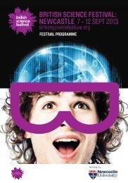 festival programme - British Science Association