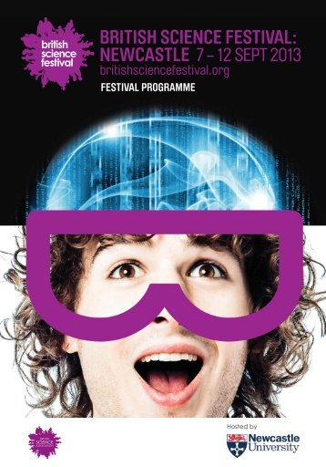 festival programme - British Science Association