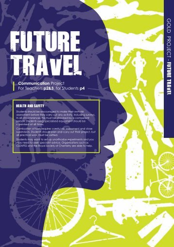 GOLD PROJECT - FUTURE TRAVEL - British Science Association