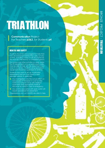 Triathlon (communication project) - British Science Association