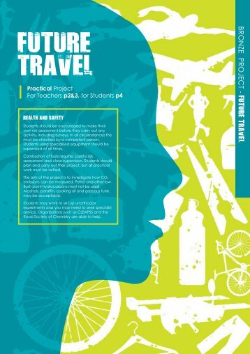 Future Travel - Practical - British Science Association