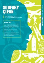 Squeaky clean (communication project) - British Science Association