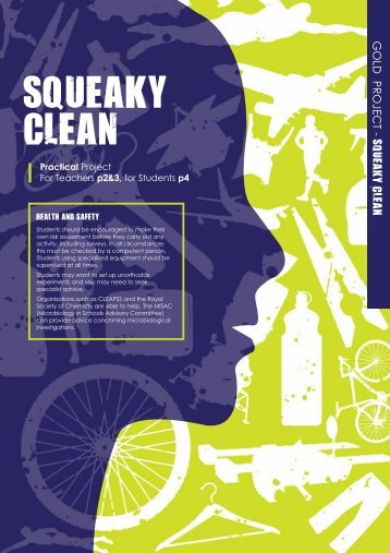 Squeaky Clean - Practical - British Science Association
