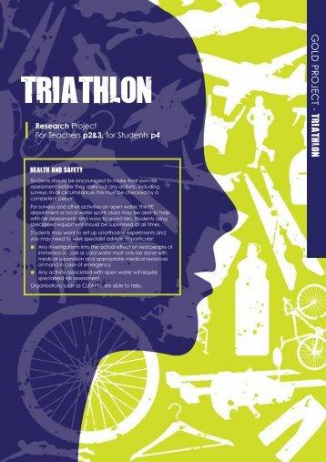 Triathlon - Research - British Science Association
