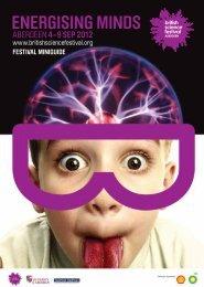 FESTIVAL MINIGUIDE - British Science Association