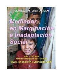 Curso Mediador en marginacion en inadaptacion social